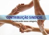 A  contribuição sindical